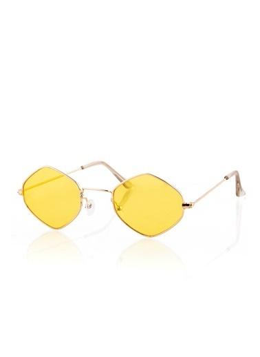 Polo55 Gözlük Sarı